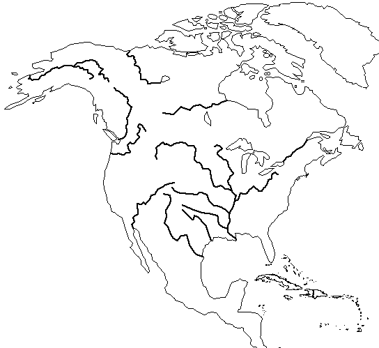 North American Rivers unlabeled map.png