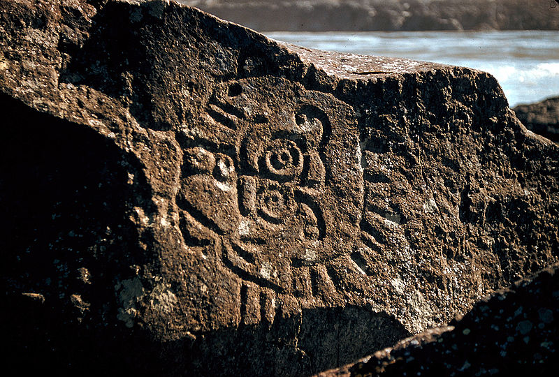 File:Petroglyphs in the Columbia River Gorge.jpg